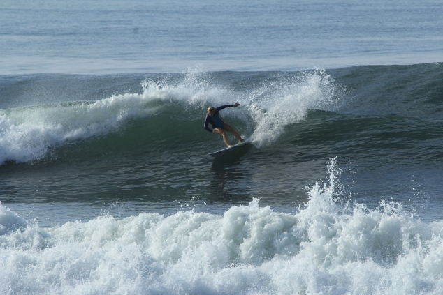 Michelle (the grom) loves this wave