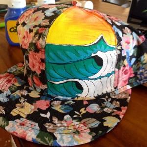 amira flower hat